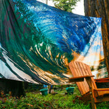 Barrel Sunset Tapestry