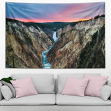 Yellowstone Falls Tapestry