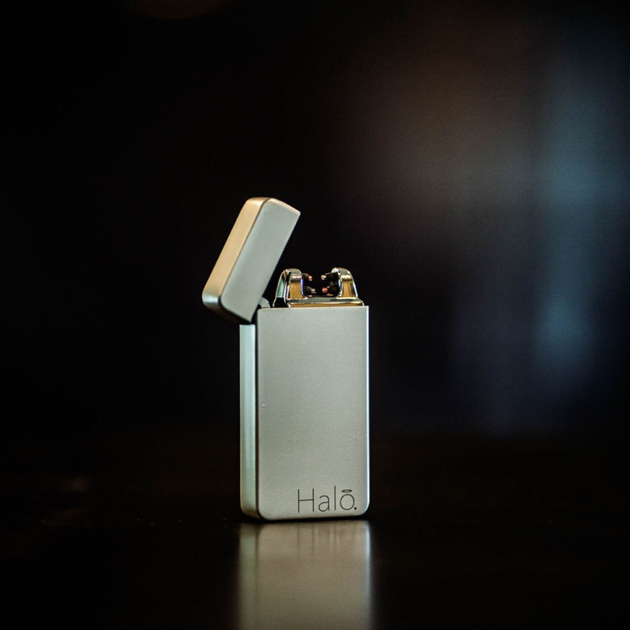 Fifth Element Electrode Dual Arc Lighter - Matte Silver
