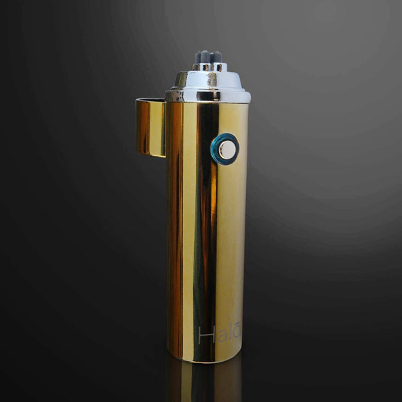 Ion Electrode Dual Arc Lighter - Metallic Gold