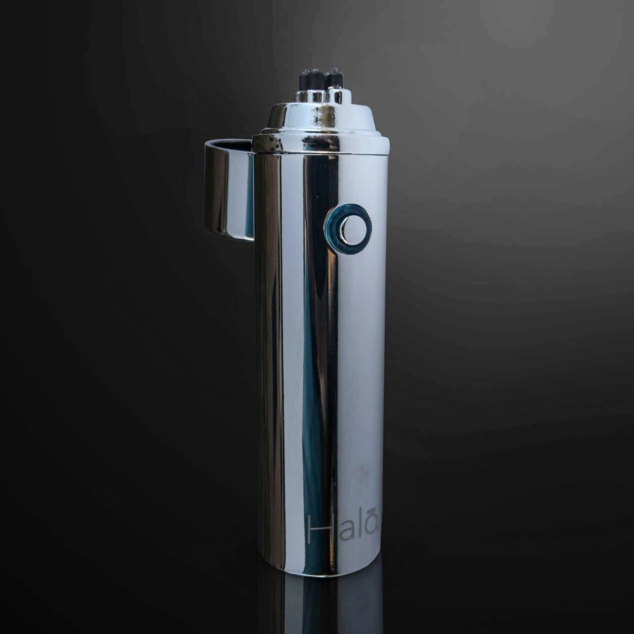 Ion Electrode Dual Arc Lighter - Metallic Silver