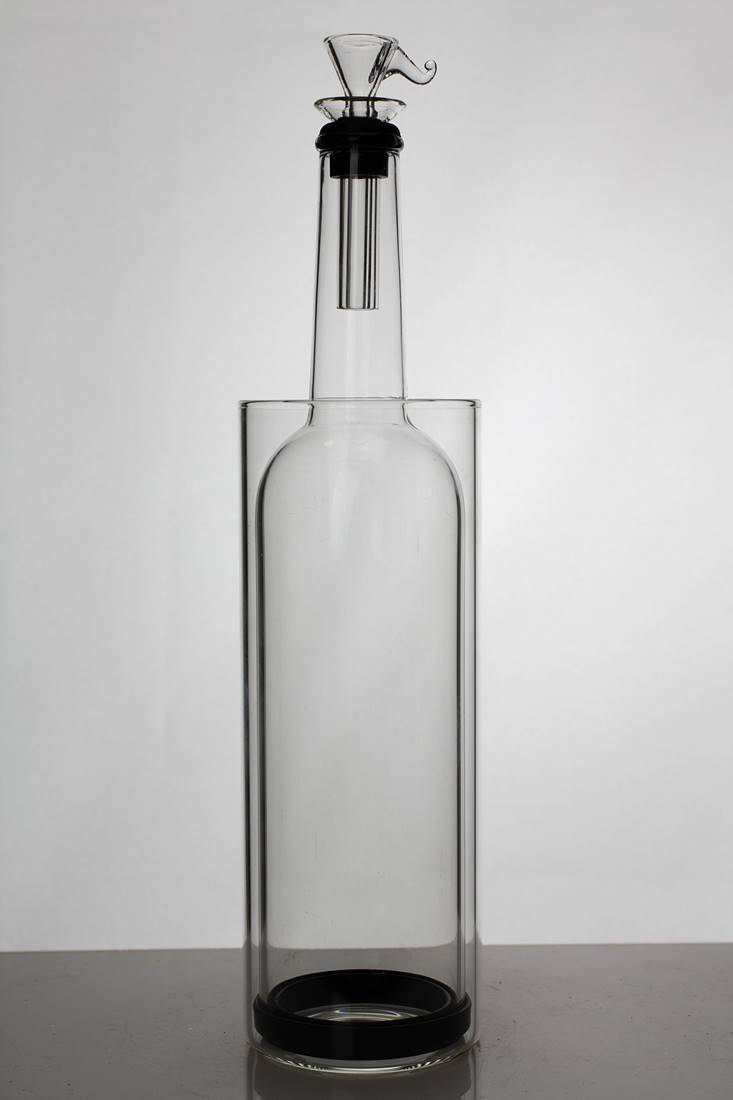 "12"" gravity glass water bong - One wholesale Canada"