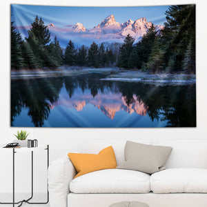 Morning In Teton Tapestry
