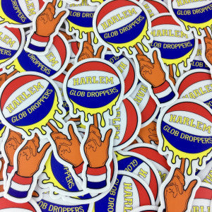 Harlem Globdroppers - ErrlyBird Basketball Sticker