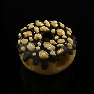 "Glassheads ""Chocolate Peanut Donut"" Chillum"