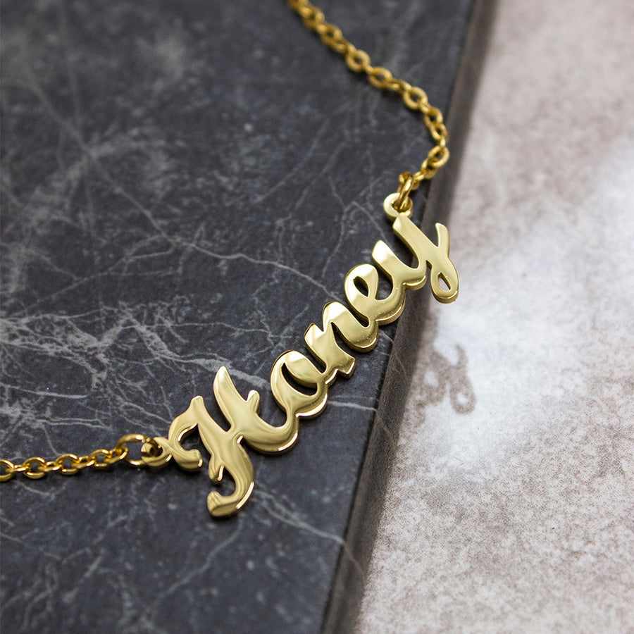 Classic Personalised Necklace - KIONII