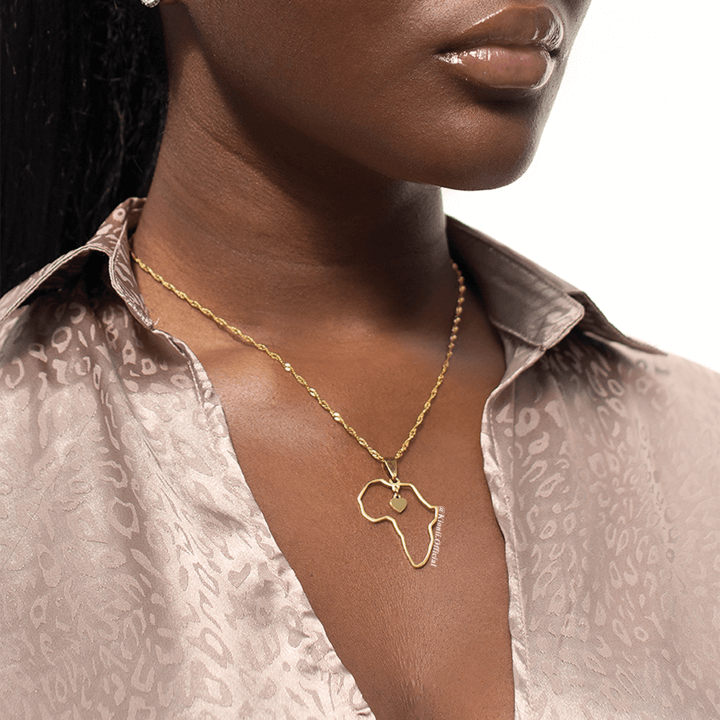 Africa's Heart Necklace