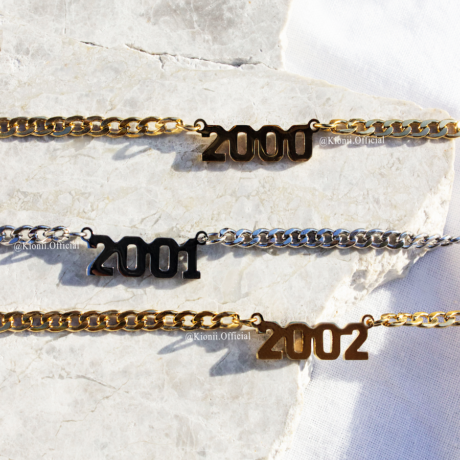 Birth Year Personalised Necklace - KIONII