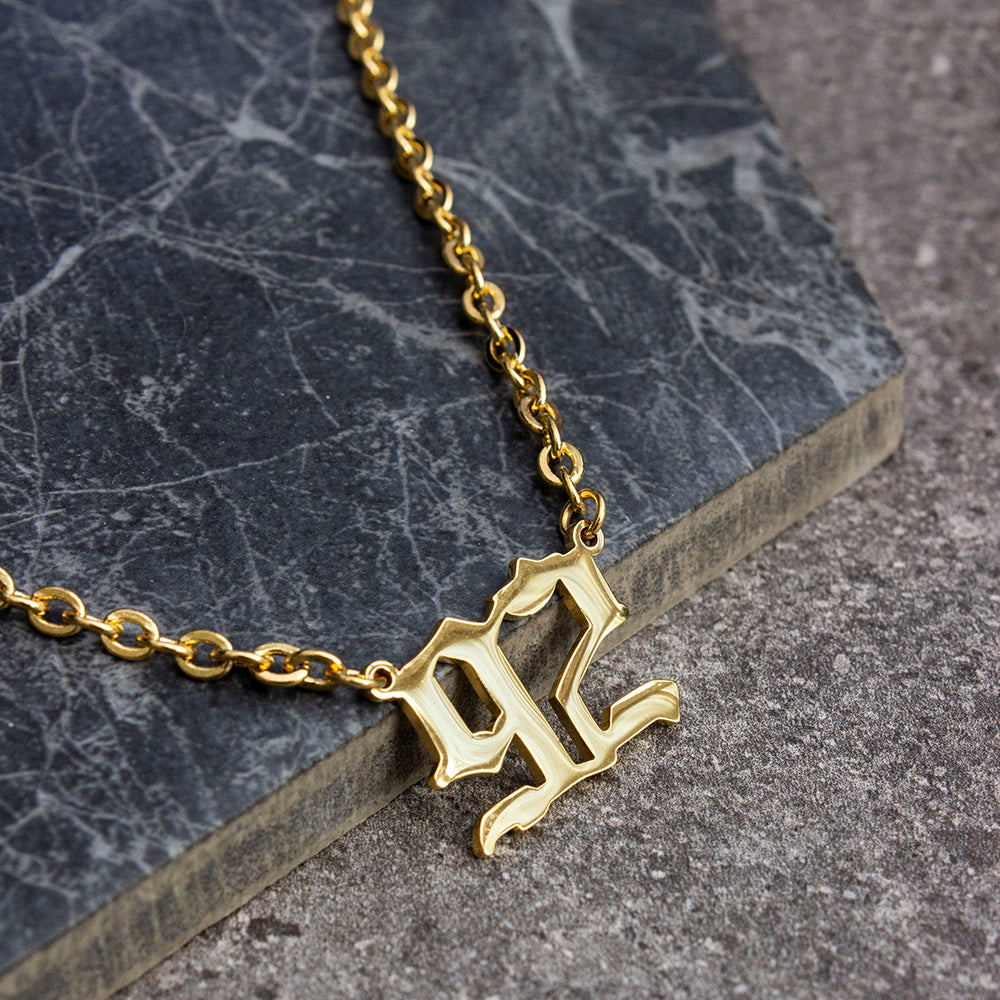 Birth Year Necklace Double Digits - KIONII
