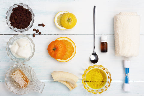 Coconut Oil Spa Ingredients