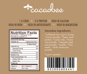 Cacao Bee Honey