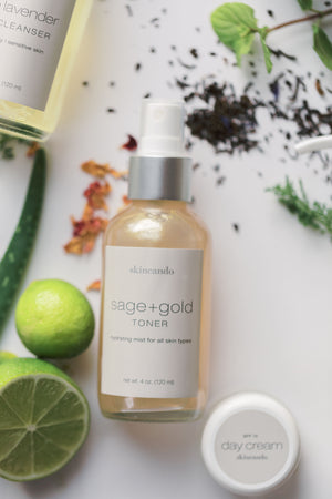 SAGE + GOLD TONER | All Skin Types