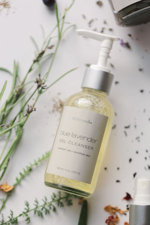 BLUE LAVENDER GEL CLEANSER | Gentle + Sudsy