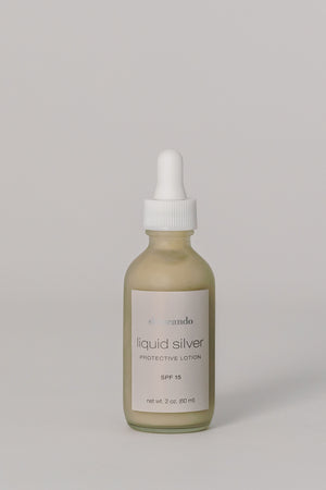 LIQUID SILVER LOTION | Spf 15