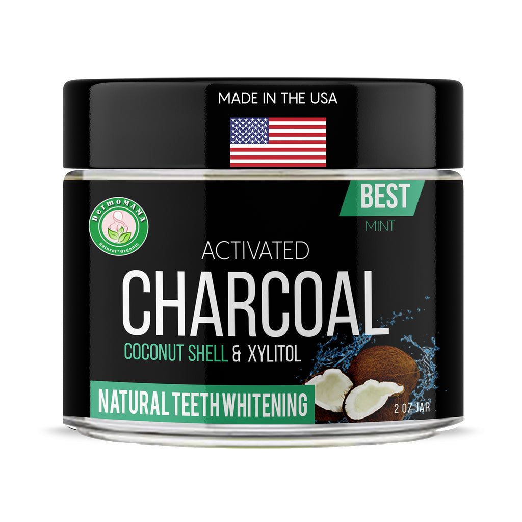 Charcoal_teeth_whitening_powder_mint_USA_Made_dermomama