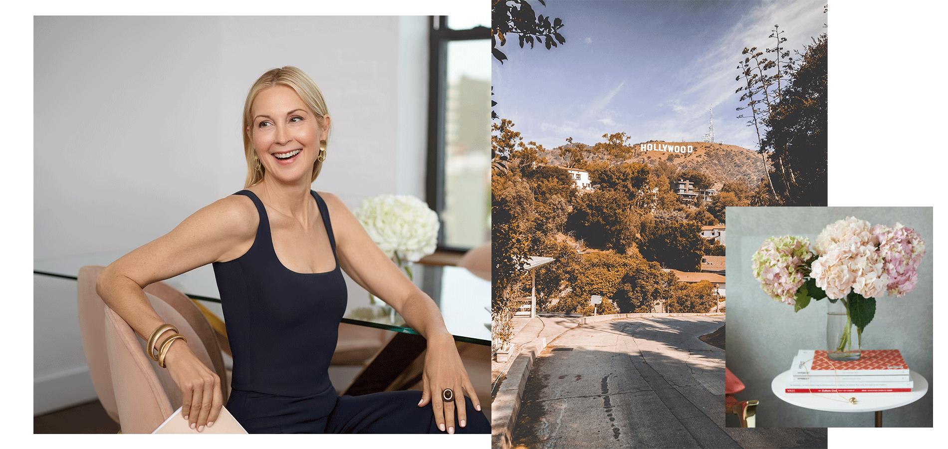 Kelly Rutherford SITA tank top