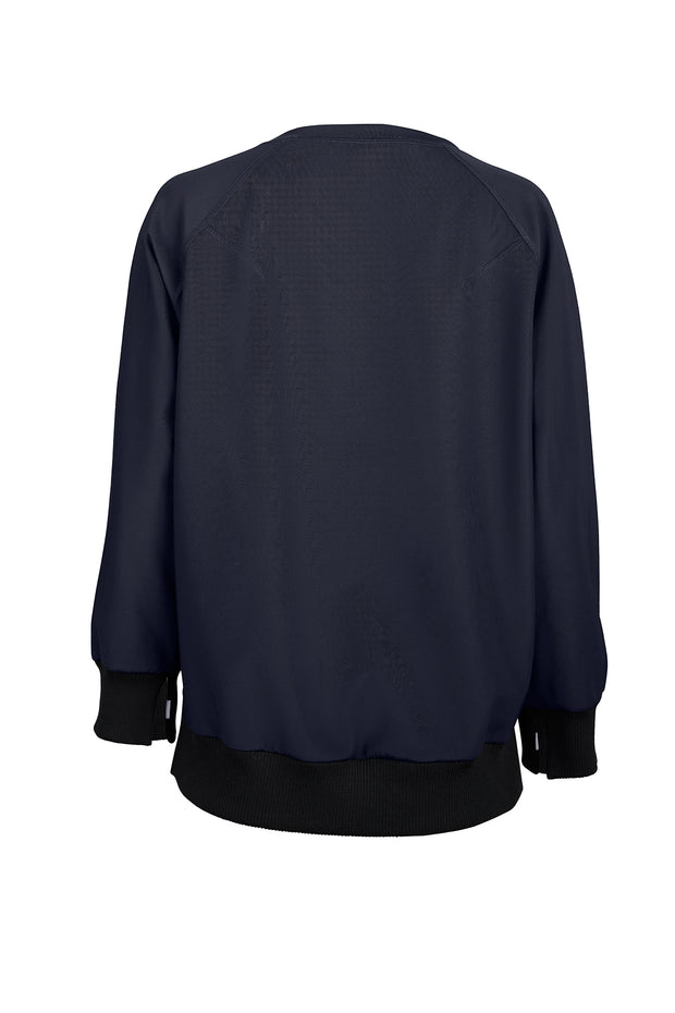Night-sky Wide Ribbed Sweater