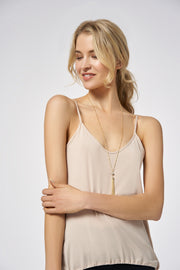 Nude Nude Performance Drawstring Cami