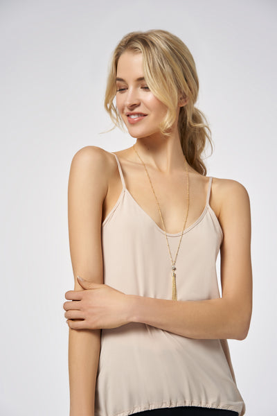 nude|Nude Performance Drawstring Cami