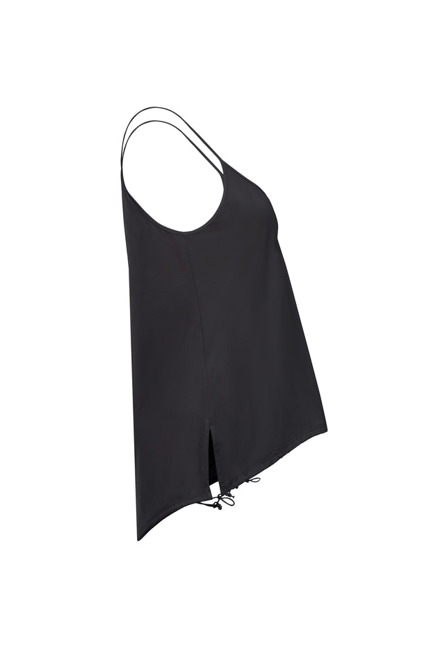 Black Drawstring Cami
