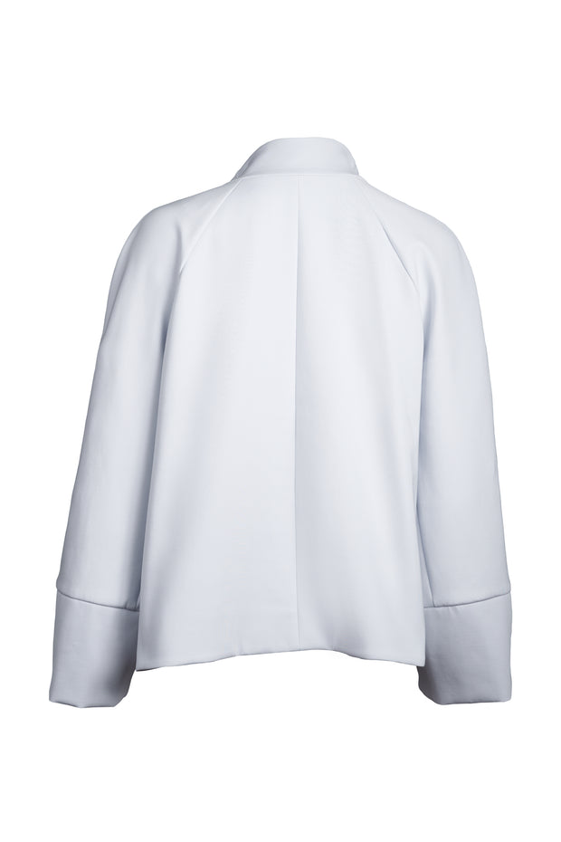 Cloud-dust Wide Sleeve Cropped Jacket