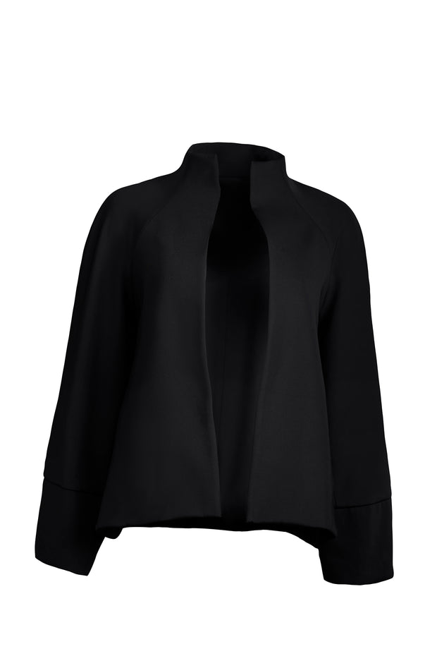 Black Black Performance Wide Sleeve Cropped Jacket