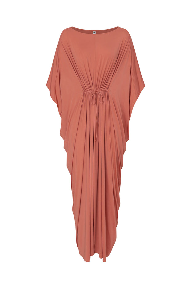 Khafji-sand Kaftan Dress