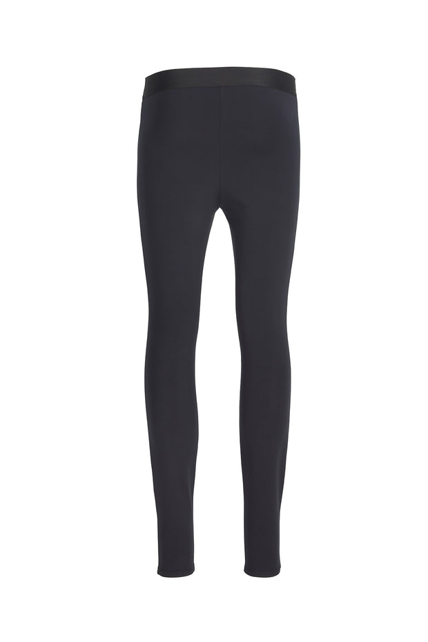 Black Lined Legging