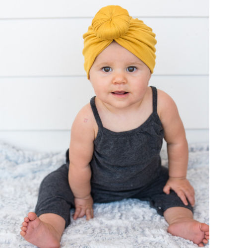 Top Knot Head Wrap Turban