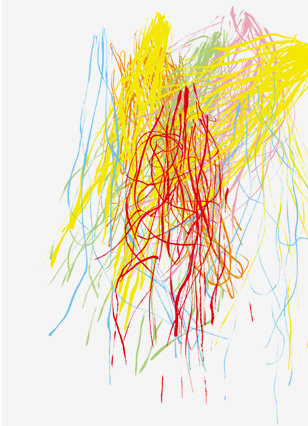 Yellow Fireworks <br> by Mike Mills <br> SOLD OUT