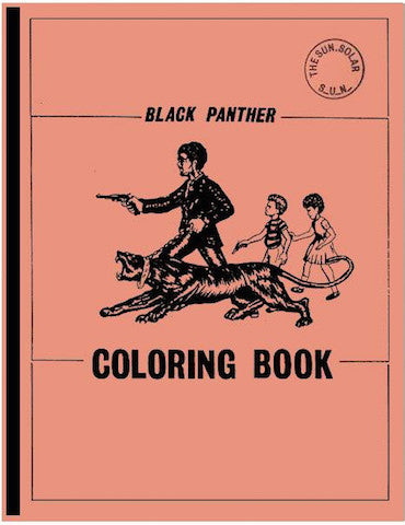 The Black Panther Coloring Book<br>SOLD OUT