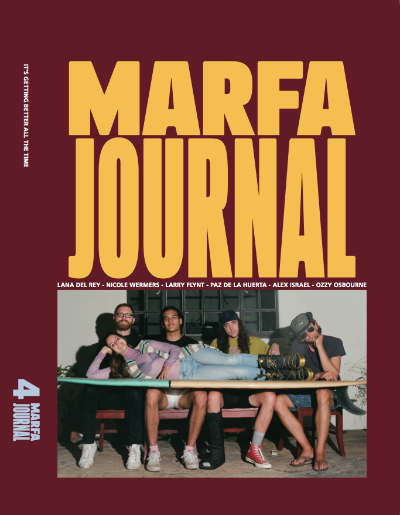 Marfa Journal #4