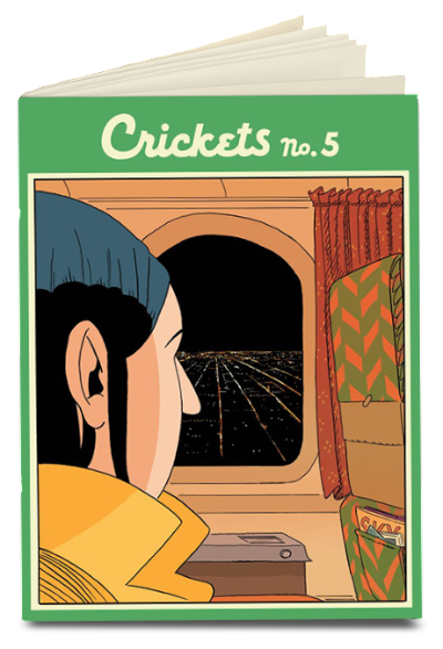 Crickets No. 5 by Sammy Harkham<br>