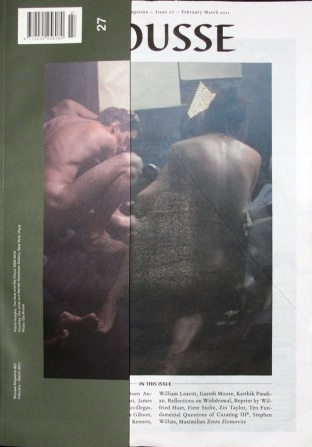 Mousse Magazine #27 <br> by various <br> SOLD OUT