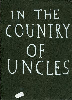 In The Country of Uncles <br> by Simon Evans <br> SOLD OUT