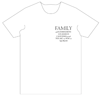 Family Shirt <br> Backdoor