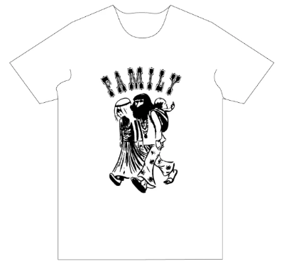 Family shirt <br> Hippy Family