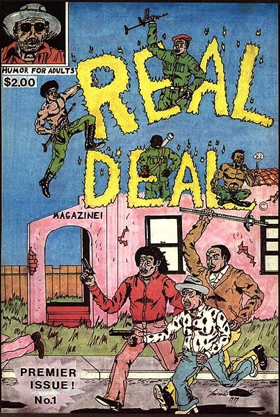 Real Deal Magazine Complete Set <br> by Lawrence Hubbard <br> SOLD OUT