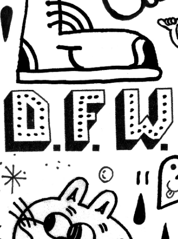 D.F.Double Universe Zine<br>by D.F.W. <br> SOLD OUT