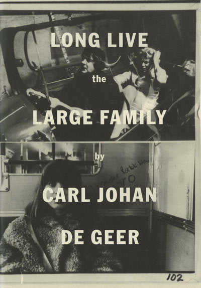 Long Live the Large Family <br> by Karl Johan De Greer <br> SOLD OUT