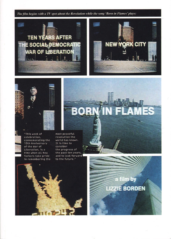 Born In Flames <br> Lizzie Borden <br> SOLD OUT