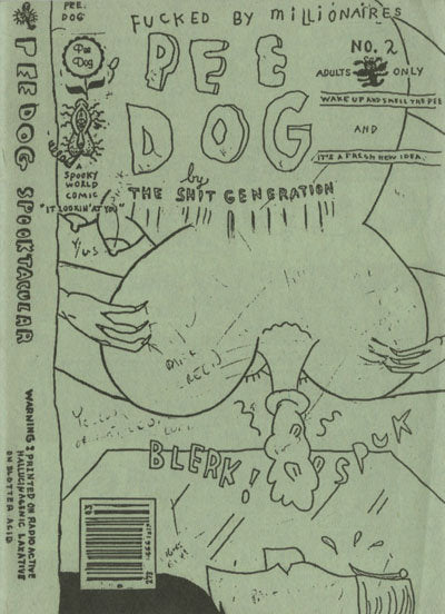 Pee Dog <br> by Gary Panter <br> SOLD OUT