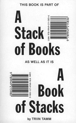 A Stack Of Books <br> by Triin Tamm <br> SOLD OUT