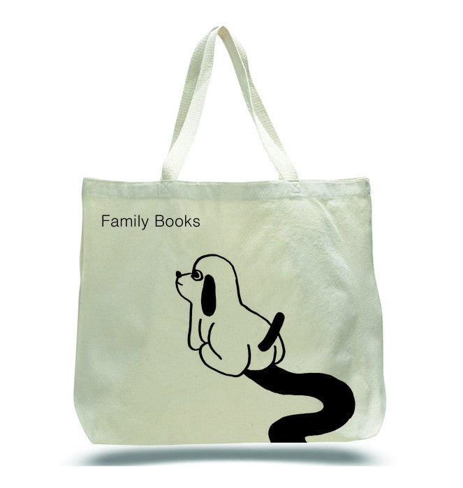 Tote Bag<br>Family Books<BR>SOLD OUT