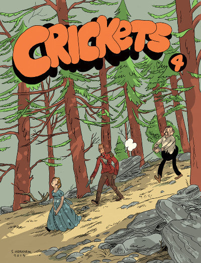 CRICKETS #4<BR>Sammy Harkham<br>SOLD OUT