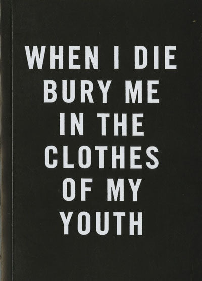 When I Die <br> by Cali Dewitt & Mark Mccoy <br> SOLD OUT
