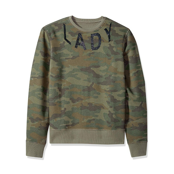 Lady Diaries Army Fatigue Sweatshirt