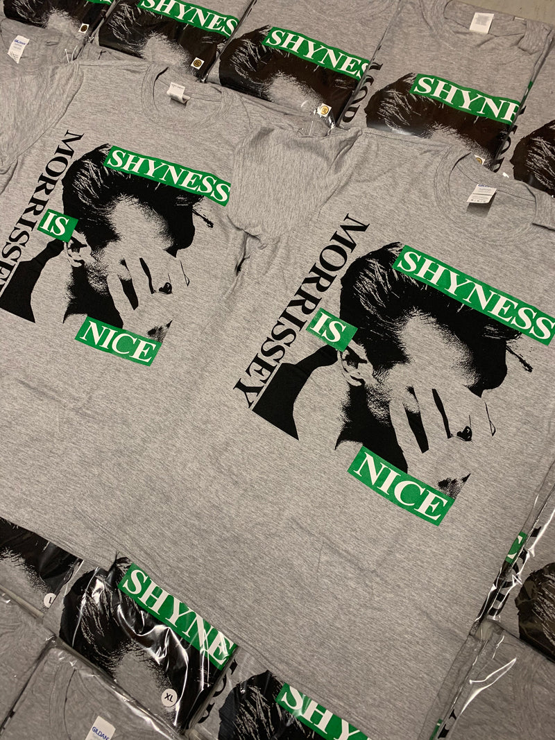 Official Licensed Morrissey Shyness Is Nice T-Shirt