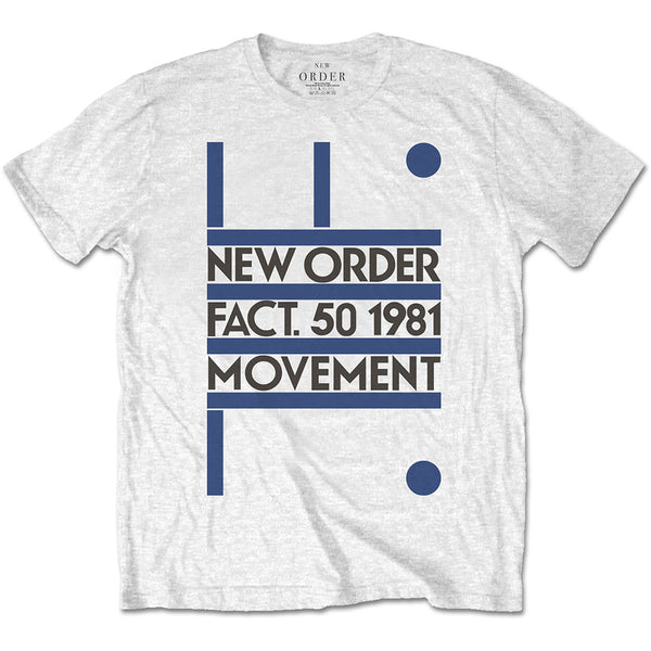 Official New Order Movement T-Shirt