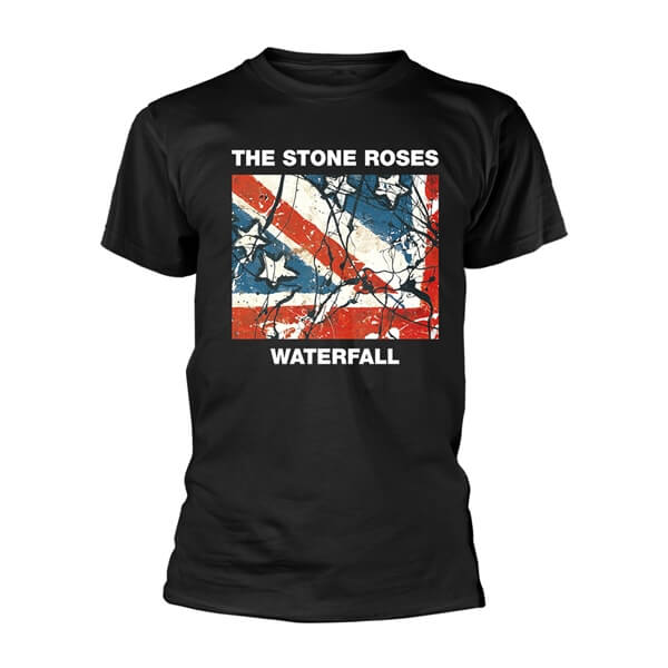 Official Licensed The Stone Roses Waterfall T-Shirt